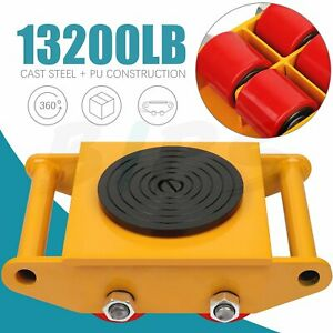 360 Degree Rotation Dolly Skate Machinery Roller Industrial Mover Machine