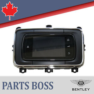 Bentley Flying Spur Oem Rear Integrated Touch Screen Remote Tsr 4w0035705