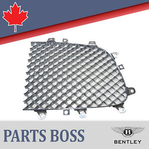 Bentley Continental Gt Gtc Flying Spur 2006 Oem Front Right Grill 3w0853684a