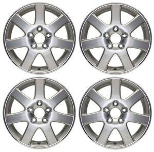 New Set Of 4 16 X 6 5 Replacement Wheel Rim For 2004 2005 Honda Accord