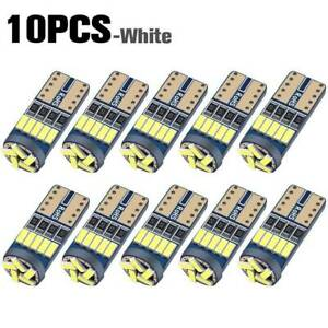 10 T10 Led Canbus Error Free Bulb 15smd 194 W5w Car Wedge Lamp Dome Map Light B