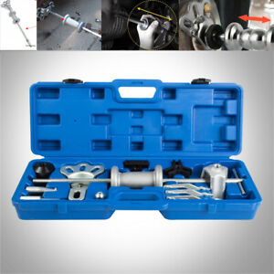 Slide Hammer Dent Puller Tool Kit Wrench Adapter Axle Bearing Hub Auto Kits