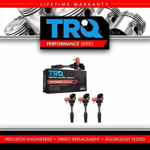 Trq Premium High Performance Engine Ignition Coil Kit Of 4 For Gm New