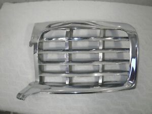 1946 1947 1948 Lincoln Continental Left Side Grill very Good Solid no Pitting