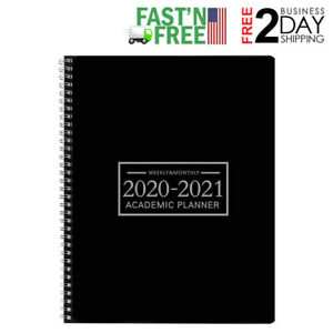 2020 2021 Planner Weekly Monthly Calendar Academic Tabs Notes Journal Organizer