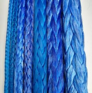 Dyneema Rope Generic Uhmwpe Hmpe Winch Pull Line Coated 12 Strand All Sizes