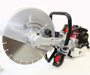2 Stroke Gas Power Handheld 14 Cement Wet Dry Masonry Concrete Cut Saw W blade