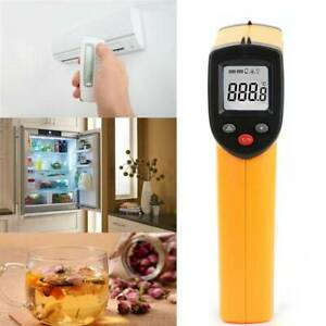Gm320 Digital Non Contact Lcd Ir Laser Thermometer Temperature Meter Pyrometer