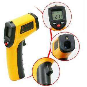 Handheld Digital Laser Ir Infrared Non contact Thermometer Gun Lcd Temperature