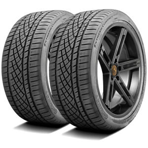 2 Continental Extremecontact Dws 06 255 40r17 Zr 94w A S High Performance Tires