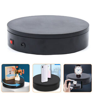 20cm Automatic Rotating Display Stand Turntable Jewelry Model Shoes Display 360