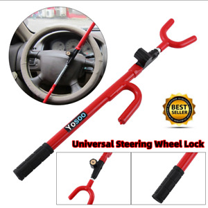 Auto Car Anti theft Security System Steering Wheel Lock Suv Truck Universal Us