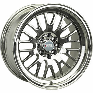 4 15x8 Pvd Chrome Wheel Xxr 531 4x100 4x4 5 0