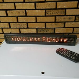 Electric Programable Led Scrolling Sign