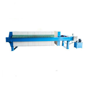 1250 Filter Press Sludge Dewatering Equipment For Wastewater Treatment