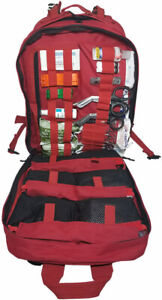 Elite First Aid Stomp Medical Kit Stocked Trauma Advanced Medical Care Bag