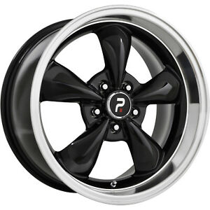 4 17x9 Black Wheel Oe Performance 106 Mustang Bullet Replica 5x4 5