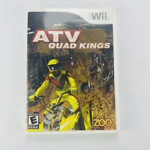 ATV: Quad Kings (Nintendo Wii  2009) Tested with manual