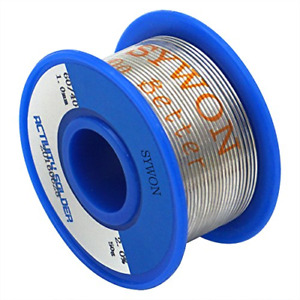Sywon 60 40 Tin Lead Rosin Core Solder Wire 0 039 50g For Electrical Soldering