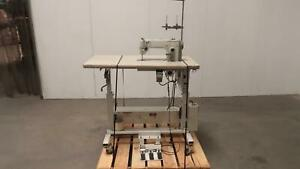 Durkopp Adler 0271 990203 271 140342 Sewing Machine With Automatic Lift Table T1