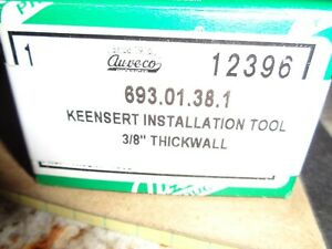 Auveco 12396 Thread Repair Tool For Keensert Installation 3 8 16 3 8 24 New