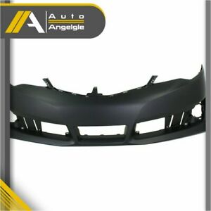 New Primered Front Bumper Cover Fascia For 2012 2014 Toyota Camry