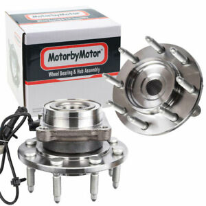 2 Front Wheel Bearing Hub 8lug For 2001 2006 Chevy Silverado Sierra 2500hd 2wd