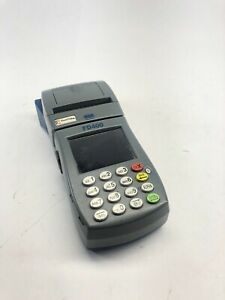 First Data Fd 400 Point Of Sale Credit Debit Card Machine Terminal No Charger