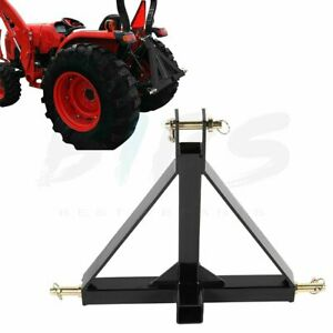 3 Point 2 Receiver Trailer Hitch Tractor Drawbar Adapter Durable Heavy Duty