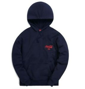 Kith x Coca Cola Hoodie | XS Navy | New  never worn  with tags