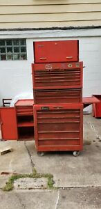 Vintage Snap On Roller Cabinet Tool Boxes