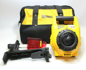 Dewalt Dw074 Heavy duty Self leveling Interior exterior Rotary Laser Kit