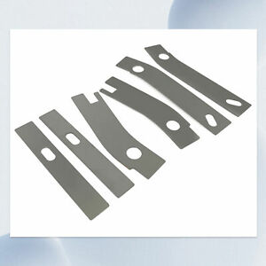6pc Frame Repair Rusted Shackle Weld Plates For 1986 1995 Jeep Wrangler Yj Rear