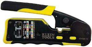 Klein Tools Vdv226 110 Ratcheting Modular Cable Crimper Wire Stripper Wire