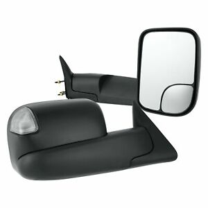 For Dodge Ram 2500 94 02 Towing Mirrors Pro Efx Driver Passenger Side Manual