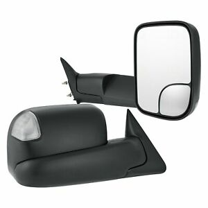 For Dodge Ram 2500 94 02 Towing Mirrors Pro Efx Driver Passenger Side Power