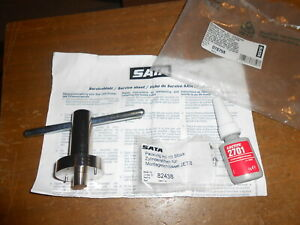 Nos Sata Jet 8 Hvlp Spray Gun Tool With Part 82438 Pins 78758