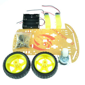 Smart Robot Car Chassis Diy Assembly Kits Speed Encoder Battery Box For Arduino