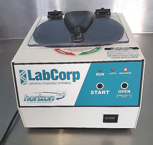 Fisher Labcorp Horizon Mini E Centrifuge With Rotor 6 Tubes Watch Video Freeship