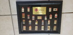 Coca cola olympic pin set 1996
