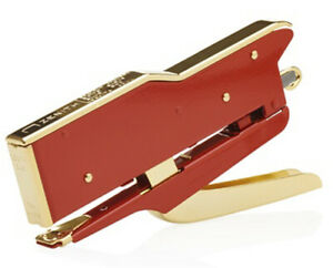 Zenith 548 Gold red Manual Plier Stapler With An Adjustable Anvil