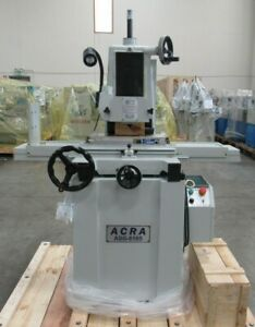 New Acra 6 x18 618s Manual Super Precision Surface Grinder