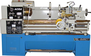 New 16 22 X 40 Acra Precision Gap Bed Engine Lathe With Newall Dro