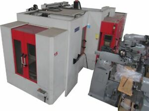 Used 28 X 25 X 28 Acra Horizontal Pallet Changer Machining Center