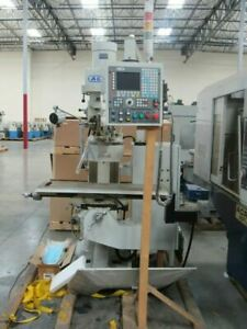 New 9 X 42 Acra 2 Axis Cnc Vertical Milling Machine With Fagor 8035 Controller