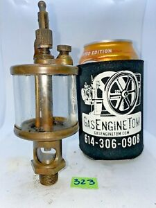 International Ihc Brass Cylinder Oiler Hit Miss Gas Engine Antique Vintage