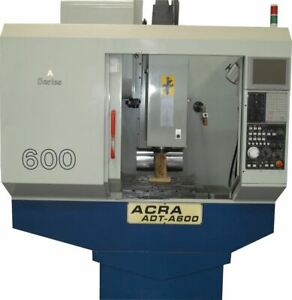Used 23 X 15 X 18 Acra Cnc Drilling Tapping Machining Center