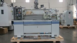 New 13 X 40 Acra s 1340bv Precision Variable Speed Gap Bed Engine Lathe