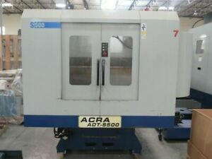 Used 19 X 15 X 13 Acra Cnc Drilling Tapping Machining Center
