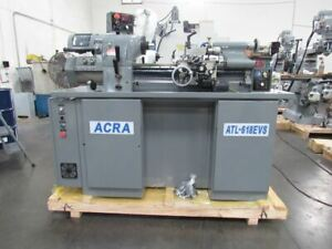 New 11 X 18 Acra Precision Highspeed high Accuracy Toolroom Lathe With Inverte